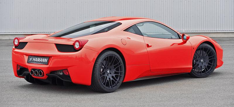 Ferrari 458 Italia: Hamann nabízí nová kola: - fotka 2