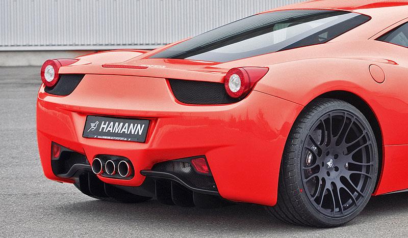 Ferrari 458 Italia: Hamann nabízí nová kola: - fotka 4