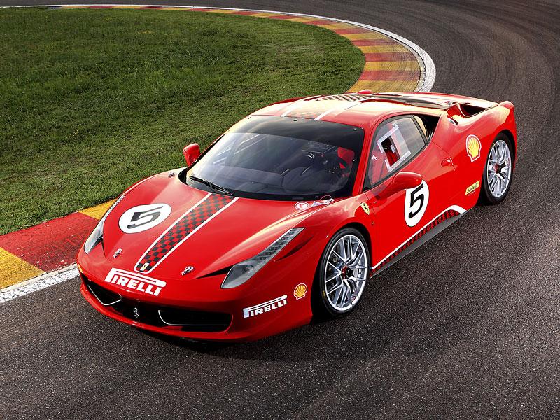 Ferrari 458 Challenge: nový stroj pro značkový pohár: - fotka 1