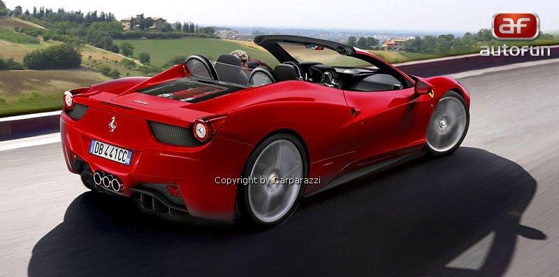 Spy Photos: Ferrari 458 Spyder: - fotka 1