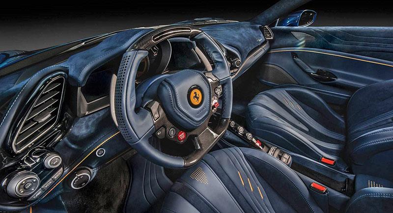 Ferrari 488 Spider by Carlex Design je rapsodie v modrém: - fotka 1