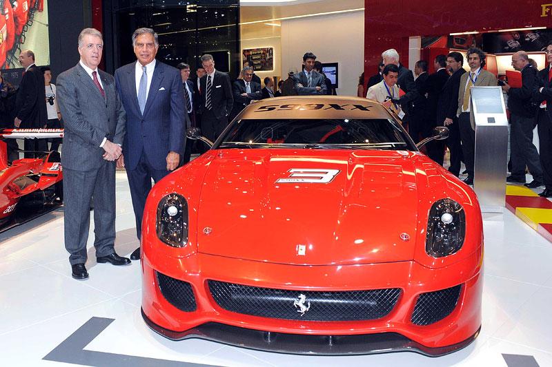 Ferrari 599XX: Massa za volantem (+video): - fotka 37