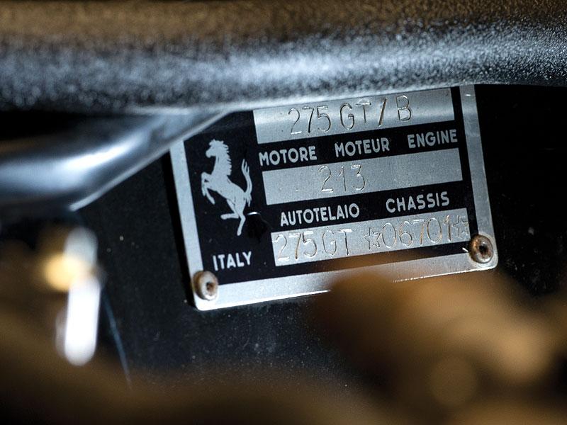 Ferrari 275 GTB/C Speciale by Scaglietti se chystá do aukce: - fotka 14