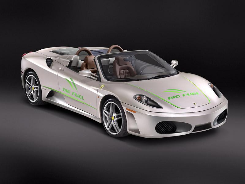Ferrari 430 Spider Bio Fuel: zelený kůň? Ach jo...: - fotka 1