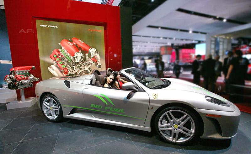 Ferrari 430 Spider Bio Fuel: zelený kůň? Ach jo...: - fotka 2