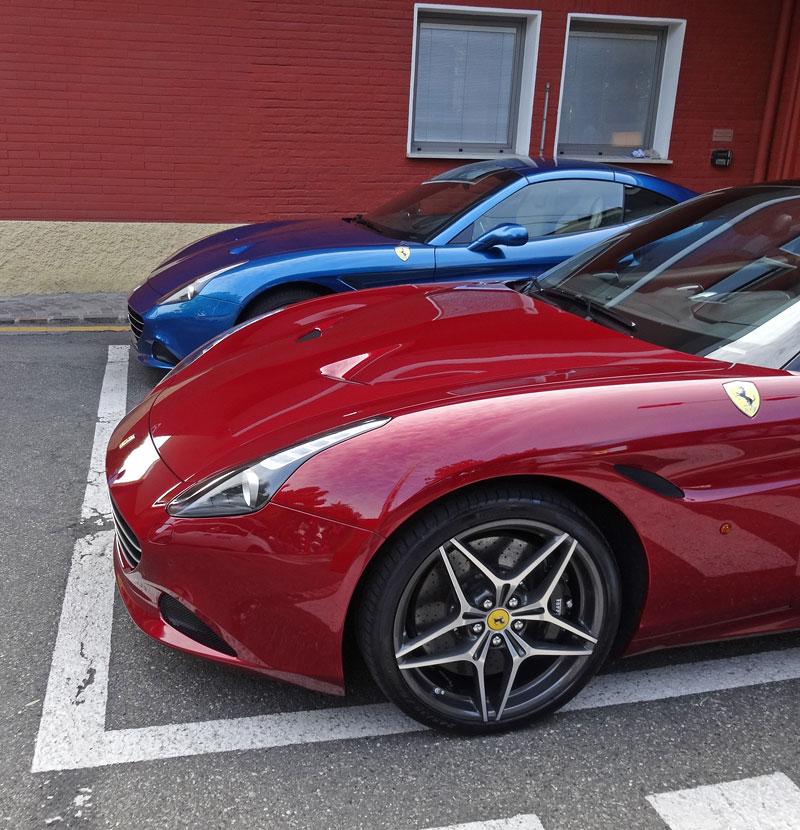 Za volantem: Ferrari California T: - fotka 27
