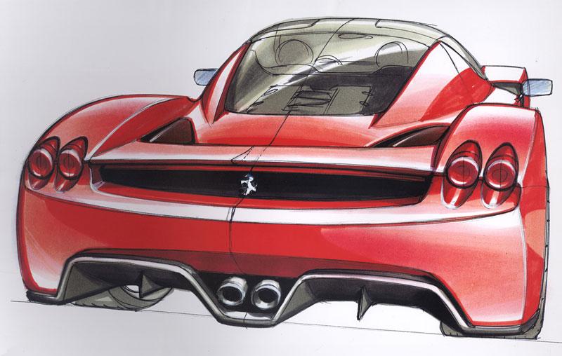Ferrari F70: po Enzu přijde osmiválec a odtučňovací kúra: - fotka 29