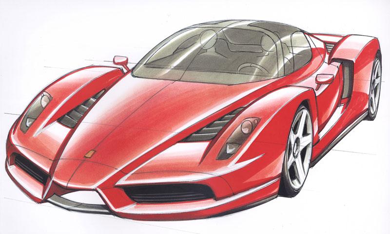 Ferrari F70: po Enzu přijde osmiválec a odtučňovací kúra: - fotka 31