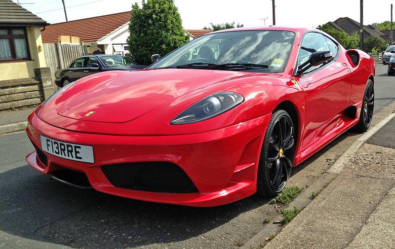 Ferrari F430 Scuderia... tak trochu...: - fotka 8