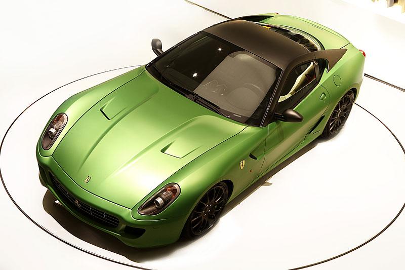 Ženeva 2010: Ferrari 599 GTB jako zelený hybrid: - fotka 1