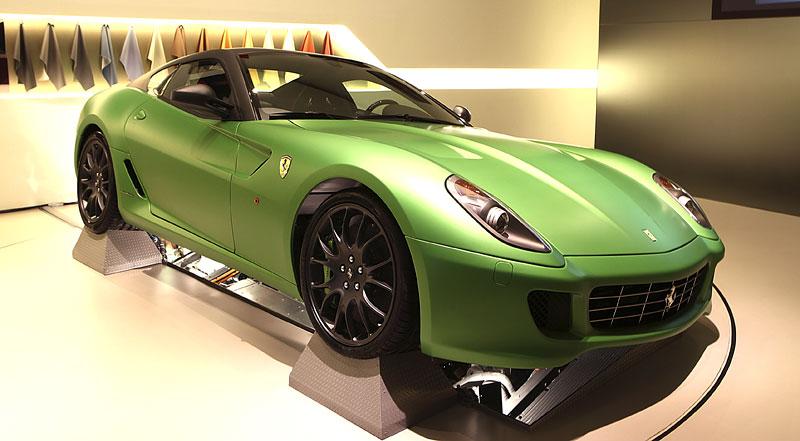 Ženeva 2010: Ferrari 599 GTB jako zelený hybrid: - fotka 2