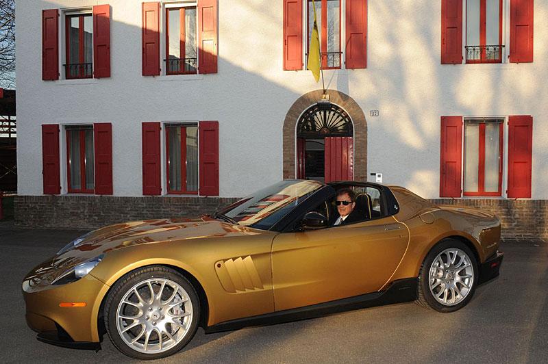 P540 Superfast Aperta: jednokusová série od Ferrari: - fotka 2