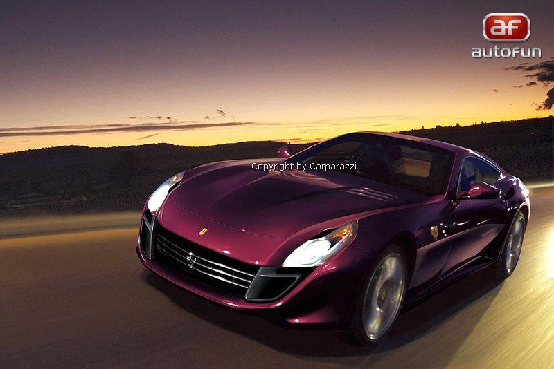 Spy Photos: Ferrari Scaglietti (ilustrace): - fotka 1