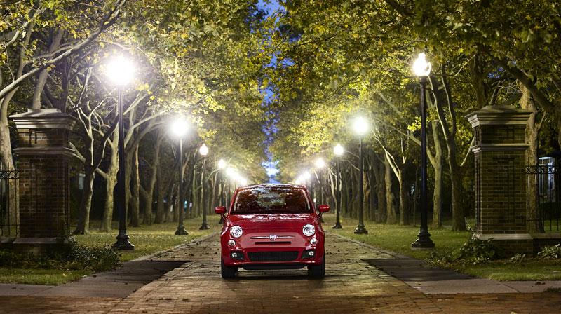 Fiat 500 Sport: rychlá pětistovka pro USA: - fotka 1