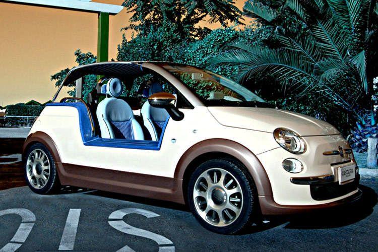 Fiat 500 Tender Two od Castagna - plážová hračka: - fotka 7