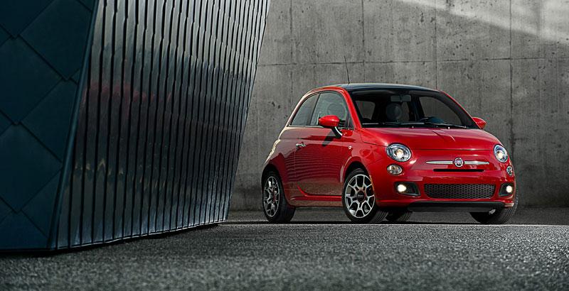 Fiat 500 Sport: rychlá pětistovka pro USA: - fotka 3