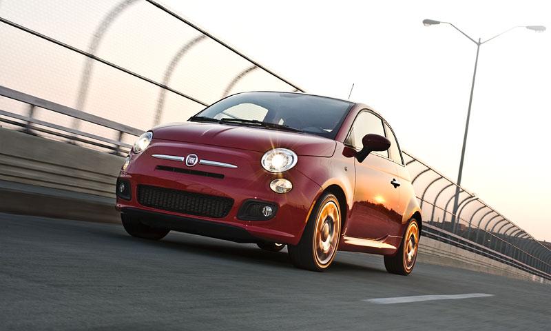 Fiat 500 Sport: rychlá pětistovka pro USA: - fotka 6