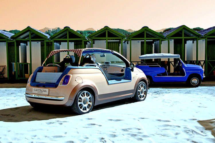 Fiat 500 Tender Two od Castagna - plážová hračka: - fotka 11