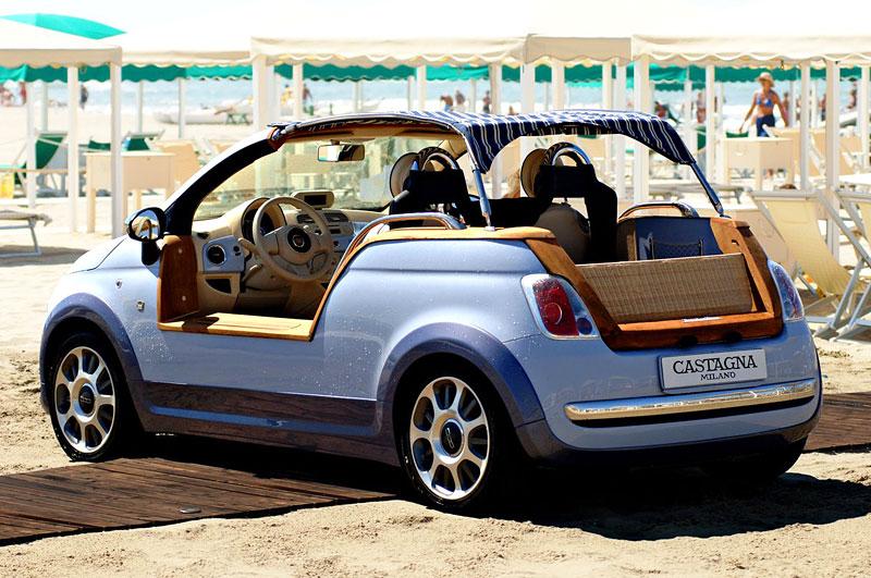 Fiat 500 Tender Two od Castagna - plážová hračka: - fotka 12