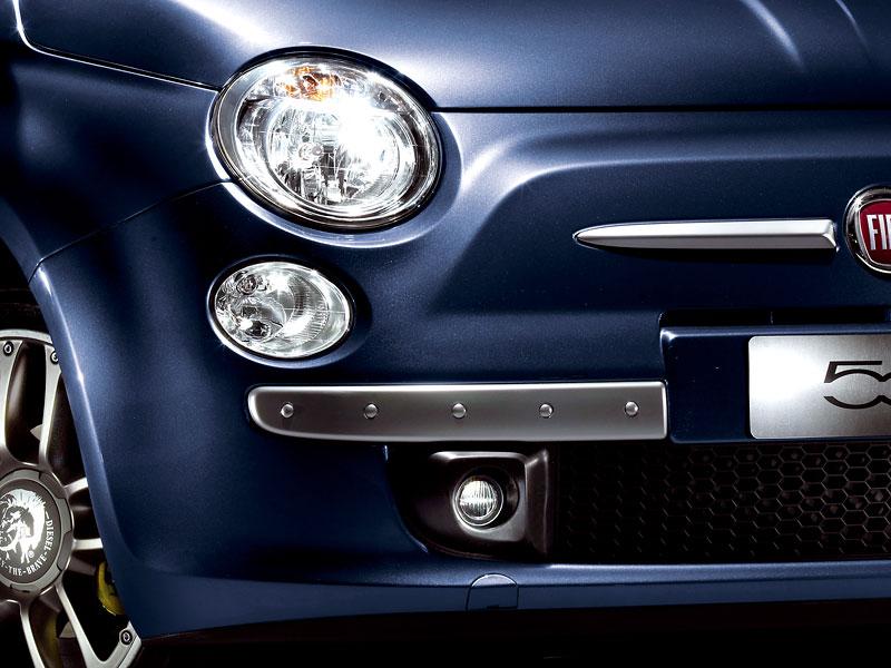Fiat 500 by Diesel nově i jako 500C: - fotka 11