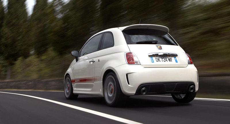Fiat 500 Abarth spouští