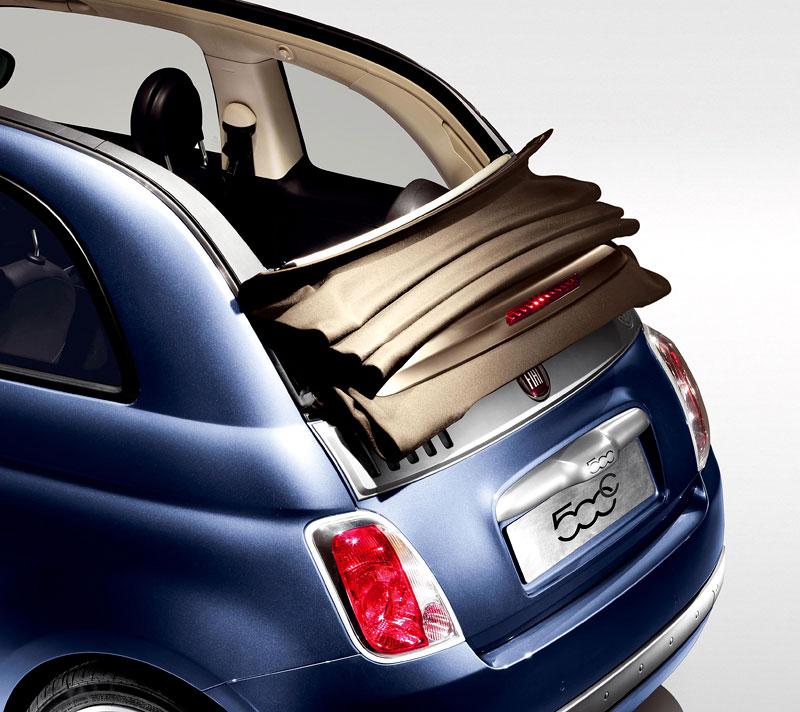 Fiat 500 by Diesel nově i jako 500C: - fotka 3