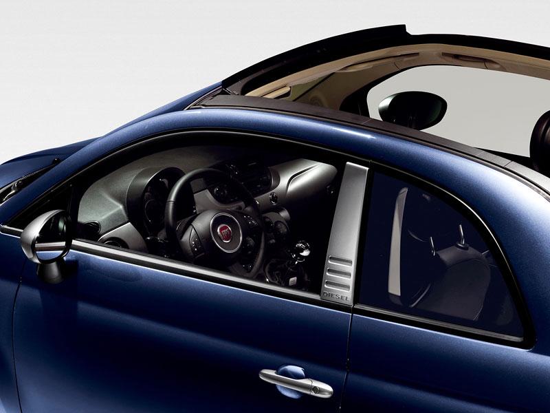Fiat 500 by Diesel nově i jako 500C: - fotka 4