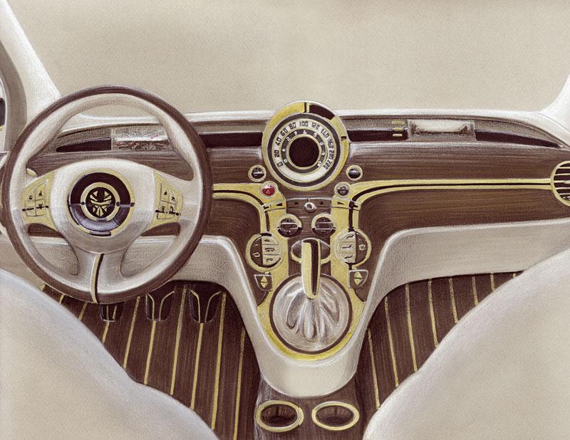 La Dolce Vita aneb Fiat 500C od Fenice Milano: - fotka 1