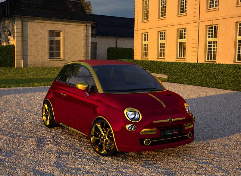 La Dolce Vita aneb Fiat 500C od Fenice Milano: - fotka 4