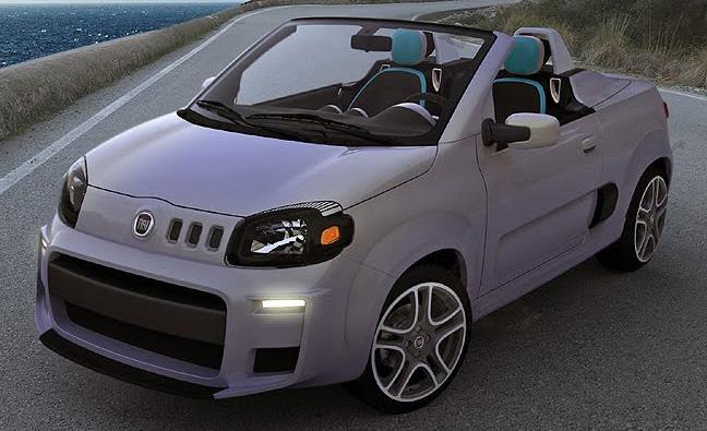 Fiat Uno Roadster a Uno Sporting Study: horká jihoamerická krev: - fotka 2