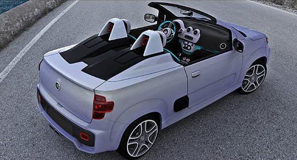 Fiat Uno Roadster a Uno Sporting Study: horká jihoamerická krev: - fotka 4