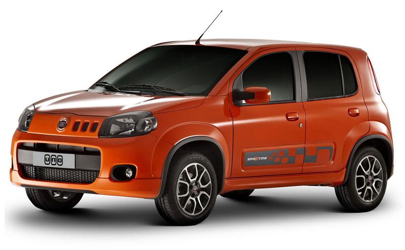 Fiat Uno Roadster a Uno Sporting Study: horká jihoamerická krev: - fotka 6