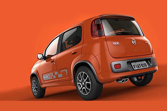 Fiat Uno Roadster a Uno Sporting Study: horká jihoamerická krev: - fotka 9