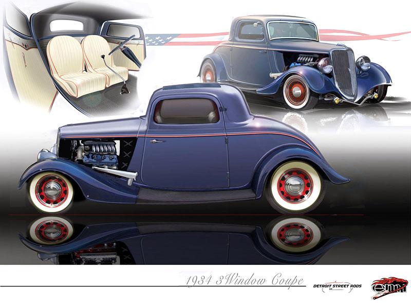 Ford 1934 EcoBoost Hot Rod: časy se mění: - fotka 1