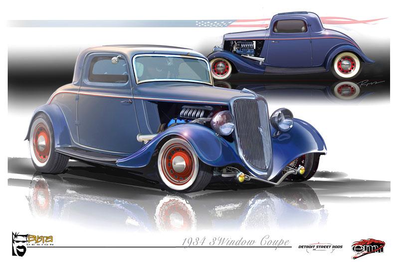 Ford 1934 EcoBoost Hot Rod: časy se mění: - fotka 2