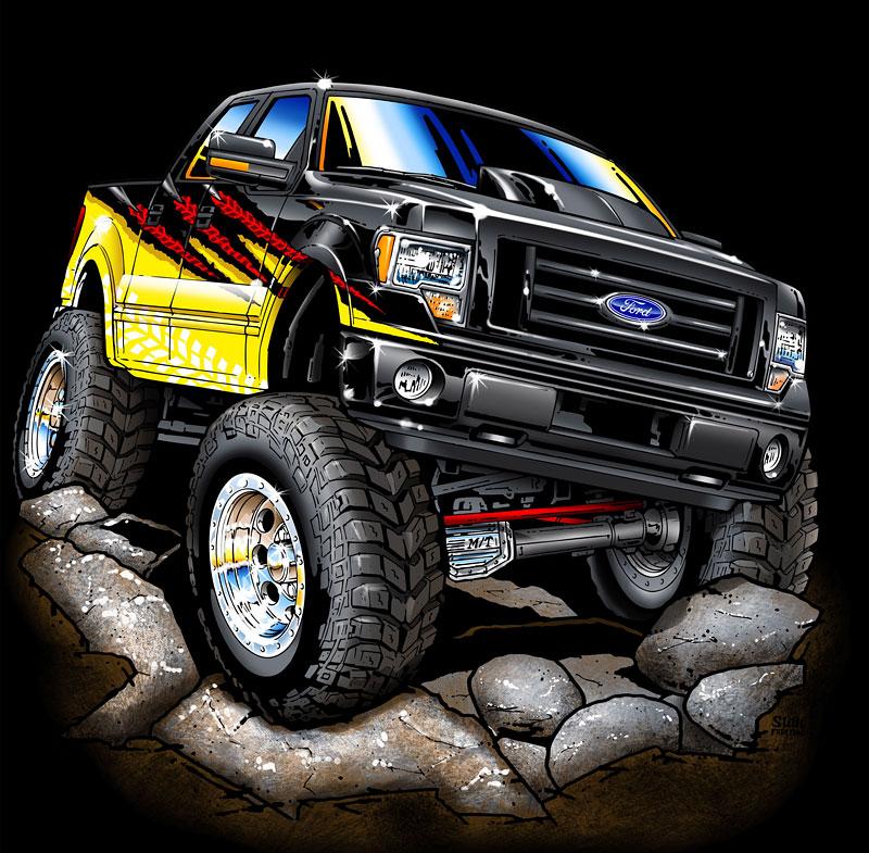 Ford F-Series na SEMA: šťastná sedmička: - fotka 1