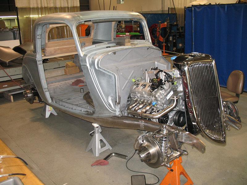 Ford 1934 EcoBoost Hot Rod: časy se mění: - fotka 3
