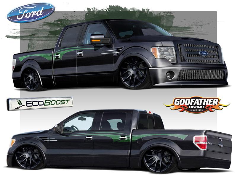 Ford F-Series na SEMA: šťastná sedmička: - fotka 5