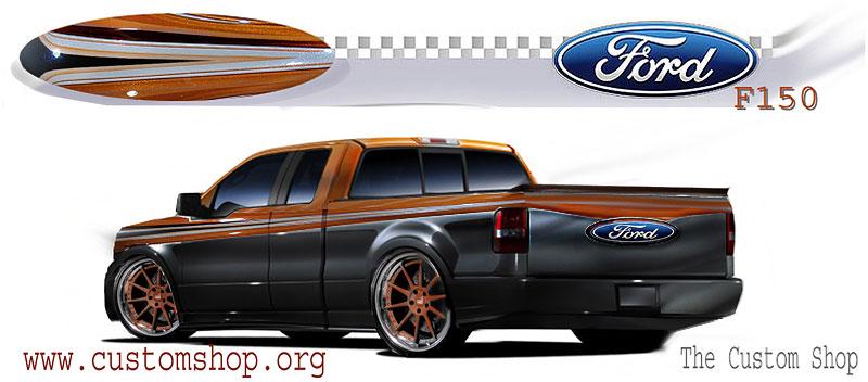 Ford F-Series na SEMA: šťastná sedmička: - fotka 7