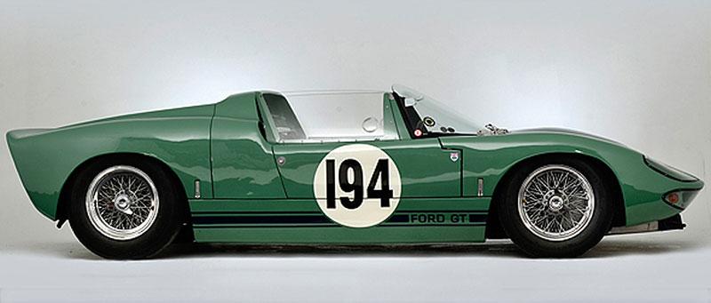 Ford GT40 Roadster: Tovární prototyp na prodej: - fotka 5