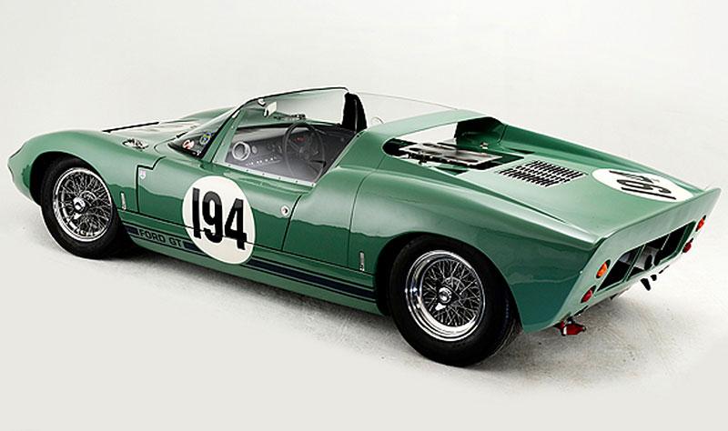 Ford GT40 Roadster: Tovární prototyp na prodej: - fotka 7