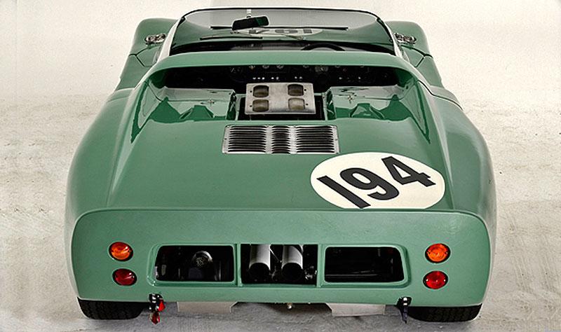 Ford GT40 Roadster: Tovární prototyp na prodej: - fotka 8