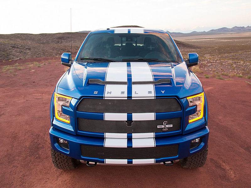 Shelby F150 700HP: 710 divokých kobyl pro sprintující farmáře: - fotka 1