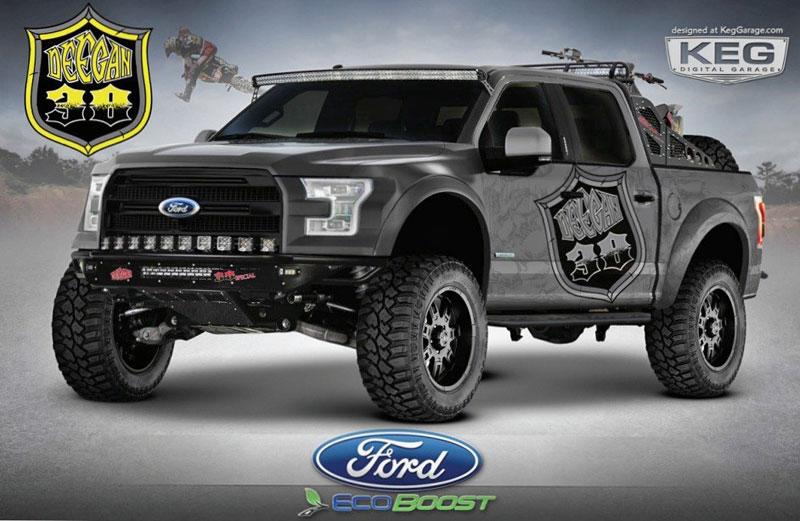 Ford F-150: Driftování s pick-upem: - fotka 2