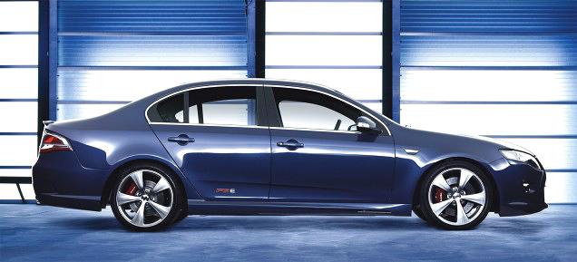 Ford FPV F6 E: výkonný sedan z Austrálie: - fotka 3