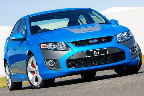 Ford Falcon GT FPV: downsizing po australsku: - fotka 1