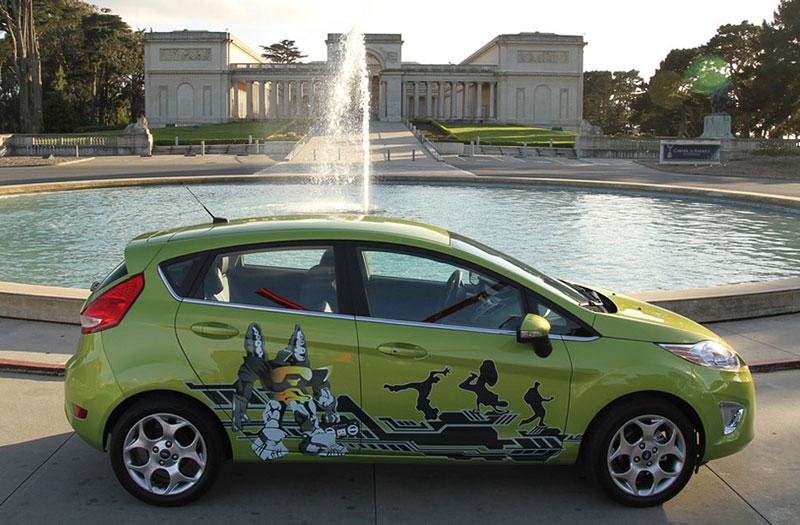 Ford Fiesta po americku: bodykity a polepy: - fotka 6
