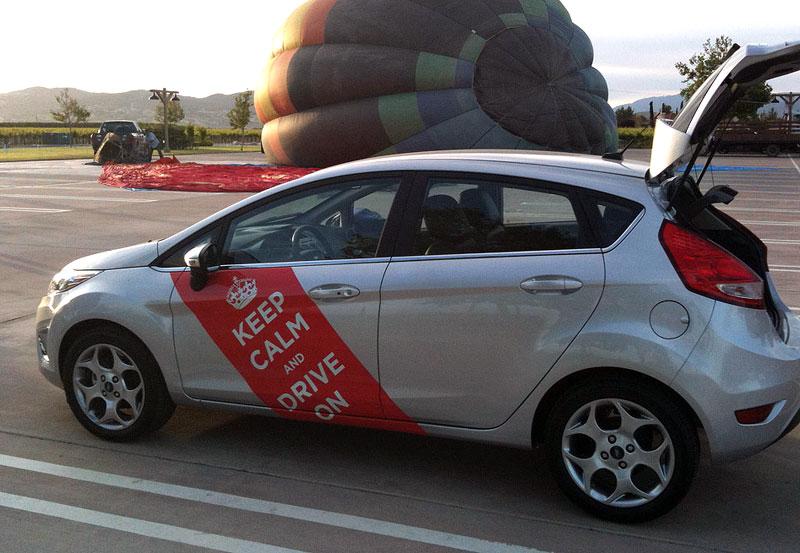Ford Fiesta po americku: bodykity a polepy: - fotka 8
