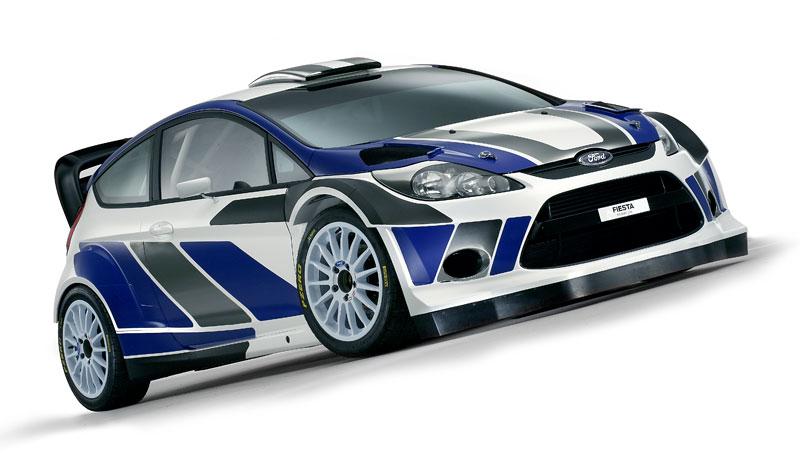 Paříž 2010: Ford Fiesta RS WRC – je pomalu čas udělat focusu pápá: - fotka 15