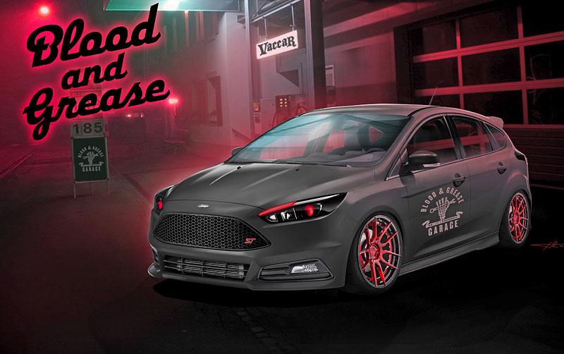 Ford Focus a Fiesta: Divoké hatchbacky pro SEMA Show 2016: - fotka 5